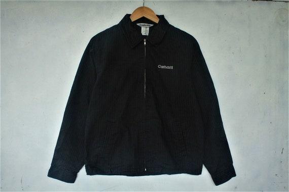 vintage carhartt jacket size L harrington jacket