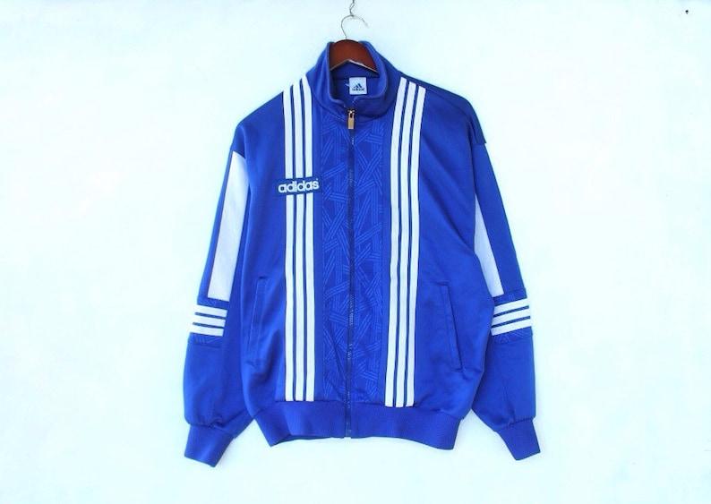 vintage 90s adidas jacket adidas tracksuit color block adidas windbreaker adidas tracksuit adidas big logo adidas trefoil blue adidas jacket