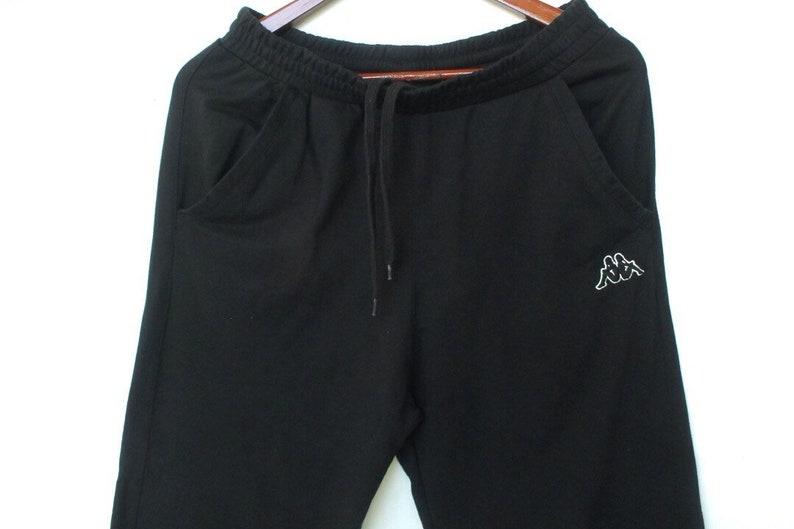 vintage 90s kappa pants stripes logo size L