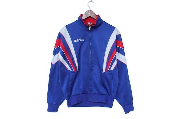 aceleración Incomparable castillo  Vintage 90s adidas track jacket size L adidas tracksuit color | Etsy