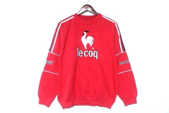 vintage 90s Le coq Sportif sweatshirt size M big l