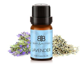 Lavender Essential Oil 100% Pure Natural Fragrance Aromatherapy - 10ml, 30ml, 50ml, 100ml Bottle