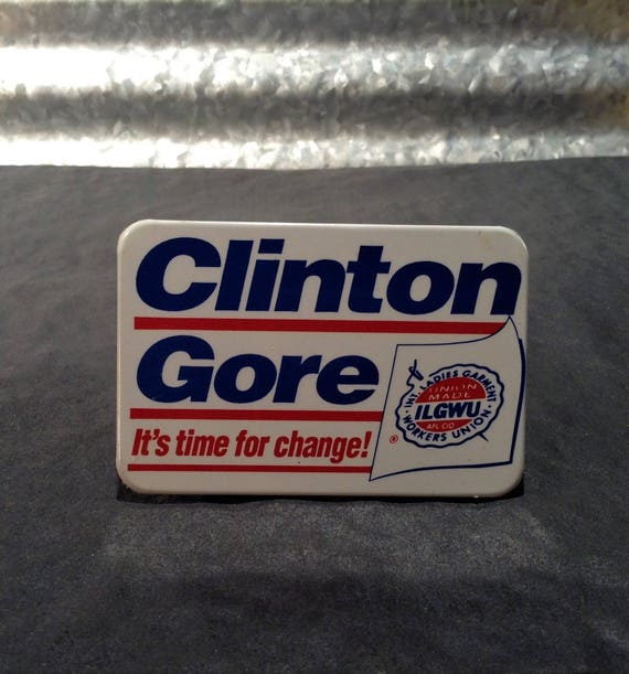 UFCW for Hillary Pin Back Button