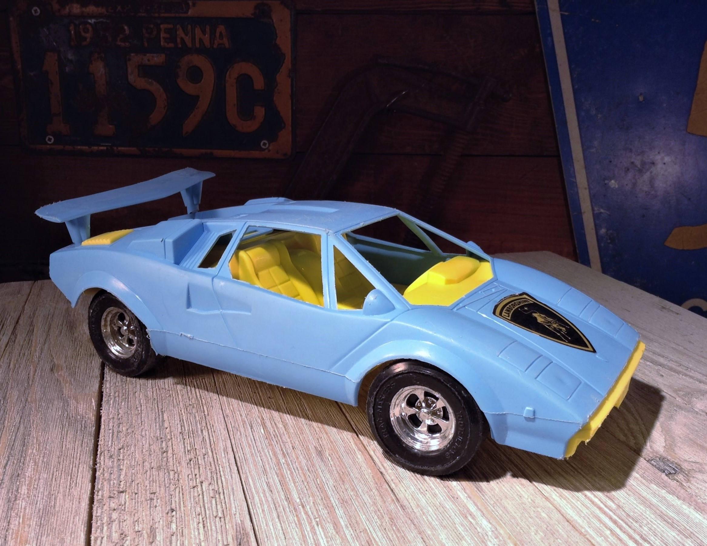 Vintage Tootsie Toys Car Tootsietoy Lamborghini Countach Etsy