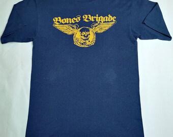 3e5b5f1dc3 Vintage Powell peralta bones Brigade T shirt Rare Zorlac Thrasher