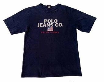 356936f6b03 Vintage Polo Ralph Lauren jeans.co large mens shirt