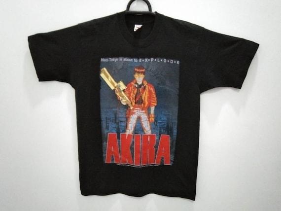 Vintage Akira cyberpunk anime Japan t shirt