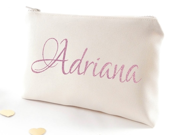 Bridesmaid gift Be my bridesmaid proposal Gift for bridesmaid Makeup bag Personalized gifts Asking bridesmaids gifts Ask bridesmaids gift