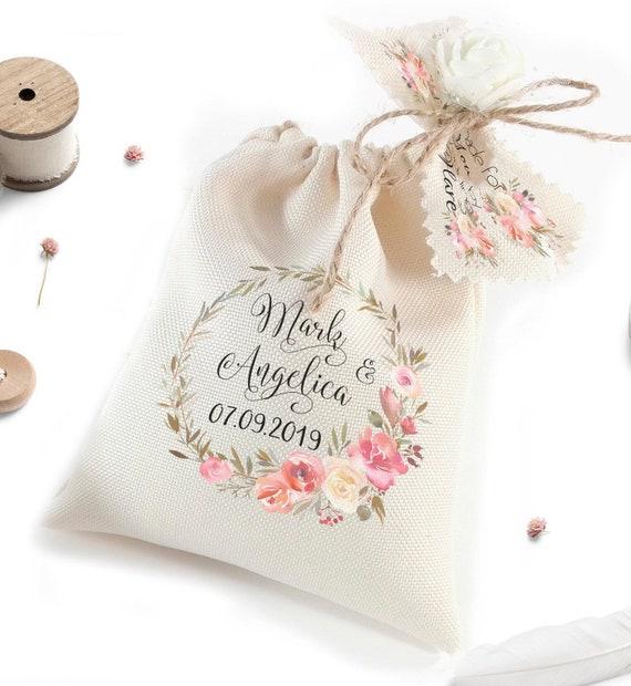 Hochzeit Gefälligkeiten für Gäste Wedding Favor Taschen | Etsy