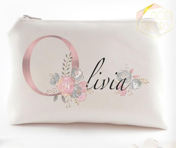 f5db6eadb00a Bridal shower gift Personalized bridesmaid gift idea Makeup