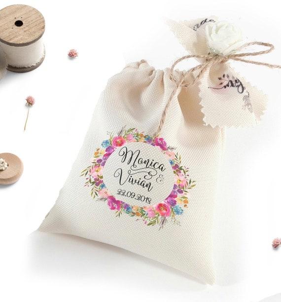 Favor Bags Wedding Souvenirs Wedding Favors Custom Party Etsy