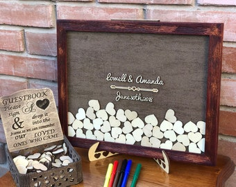 wedding guest books etsy no