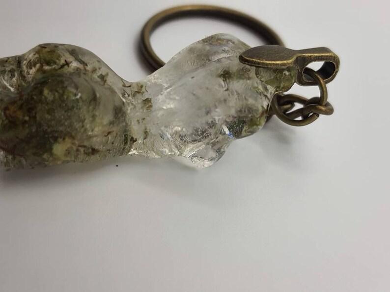 Mini Resin Ganja Goddes Body Keychain  Resin Bodice Key ring