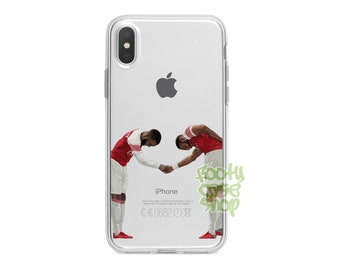 edd481ab35f Lacazette Aubameyang iPhone Case, Arsenal FC iPhone Case, Lacazette  Aubameyang iPhone 5 5s SE 5c 6 6s 7 8 Plus X Xr Xs Max