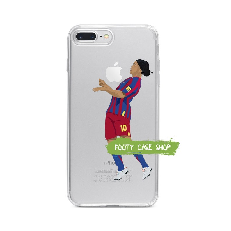best cheap fb3e6 568e4 Ronaldinho iPhone Case, FC Barcelona iPhone Case, Ronaldinho iPhone 5 5s SE  5c 6 6 Plus 6s 6s Plus 7 7 Plus 8 8 Plus X Xr Xs Max