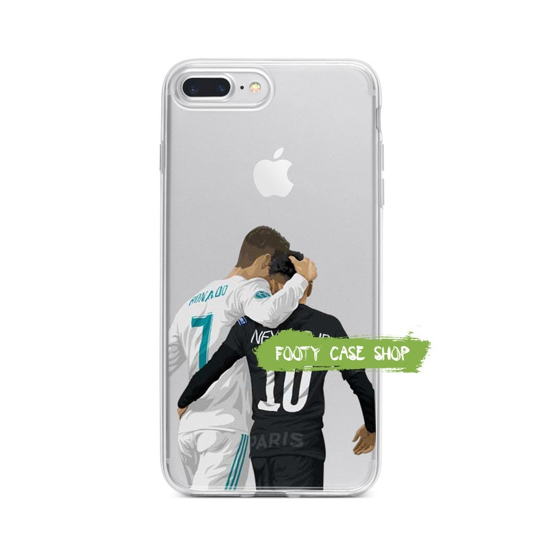 3cf708f2e24e2 Cristiano Ronaldo and Neymar iPhone Case, Real Madrid PSG iPhone Case,  iPhone 5 5s SE 5c 6 6 Plus 6s 6s Plus 7 7 Plus 8 8 Plus X Xr Xs Max
