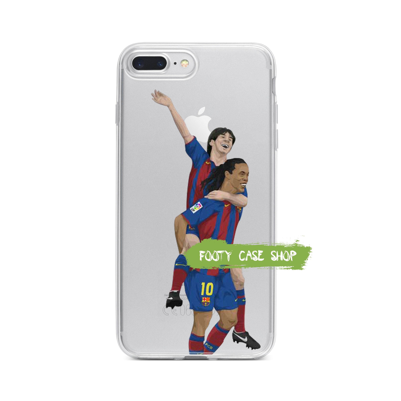 c2b97486f Messi Ronaldinho iPhone Case