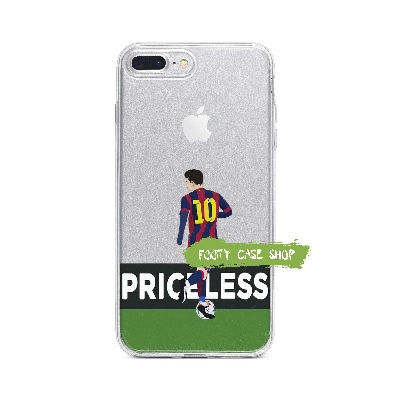 pretty nice 0967b 838fc Lionel Messi iPhone Case, FC Barcelona iPhone Case, Football iPhone Case,  Transparent iPhone Case, Soccer iPhone Case, iPhone X 8 7 6 5