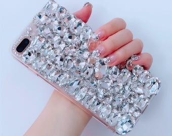 Bling Crystal Soft Phone Cell Phone Case for iphone 8 8 plus f84d10bc2