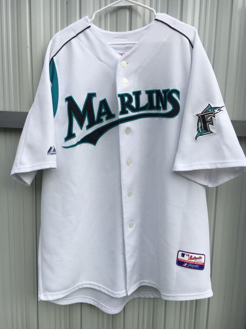 buy popular f94fe 1f731 Vintage Florida Marlins Miguel Cabrera Jersey