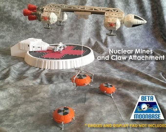 Dinky Space 1999 Eagle Nuclear Mines and Claw Set