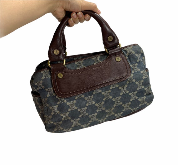 Vintage Celine Handbag Monogram