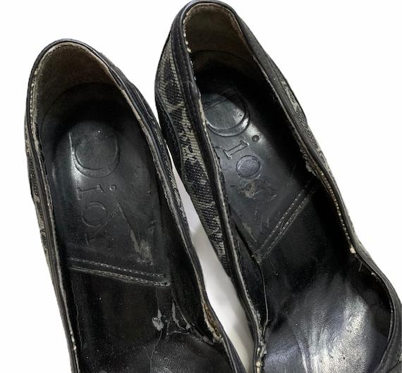 Vintage Dior Shoes Monogram - image 8