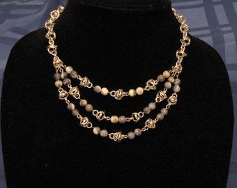 Captive Moon Necklace