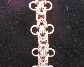 Lacy Brass Bracelet