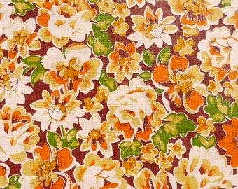 vintage wallpaper, painted paper flowers