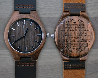 Engraving message ideas for husband