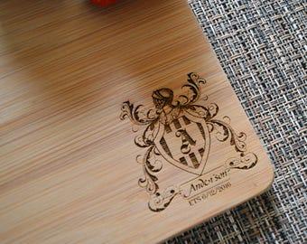 Personalized Cutting Board, Custom Cutting Board, Wedding Gift, Anniversary Gift, Housewarming Gift, Wood Cutting Board. CB 115