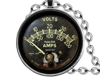 Electronics and hobbies. AC volt meter by Simpson Instruments model 49 0-1 AC Volts Rectifier Type 1000 ohms per volt