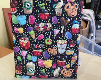 Park snacks bookbestie book sleeve padded and lined booksleeve zip sold separately