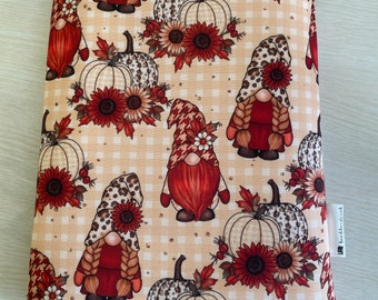 Autumn gonks gnomes zip sold separately booksleeve book cover book pouch bookbestie book sleeve book jacket