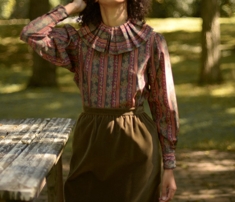 Retro Fashion: All The Blouses With Dreamy Vintage Details