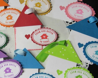 food gift tags etsy