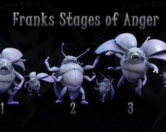 Lady Bug Bruisers,  Tabletop D&D RPG, Mini Monster Mayhem, Infestation