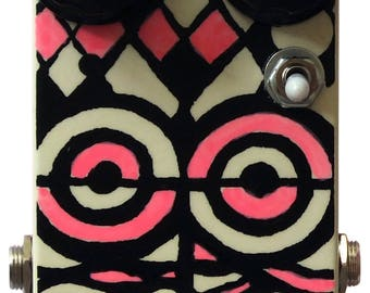 effect pedal VOODOO ISLAND analog optical vibrato effect pedal