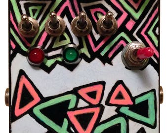 effect pedal TRIANGULAR VOID phaser effect pedal analog effect pedal