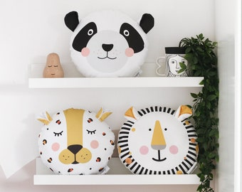 Animal pillow case Kids cushion Covers