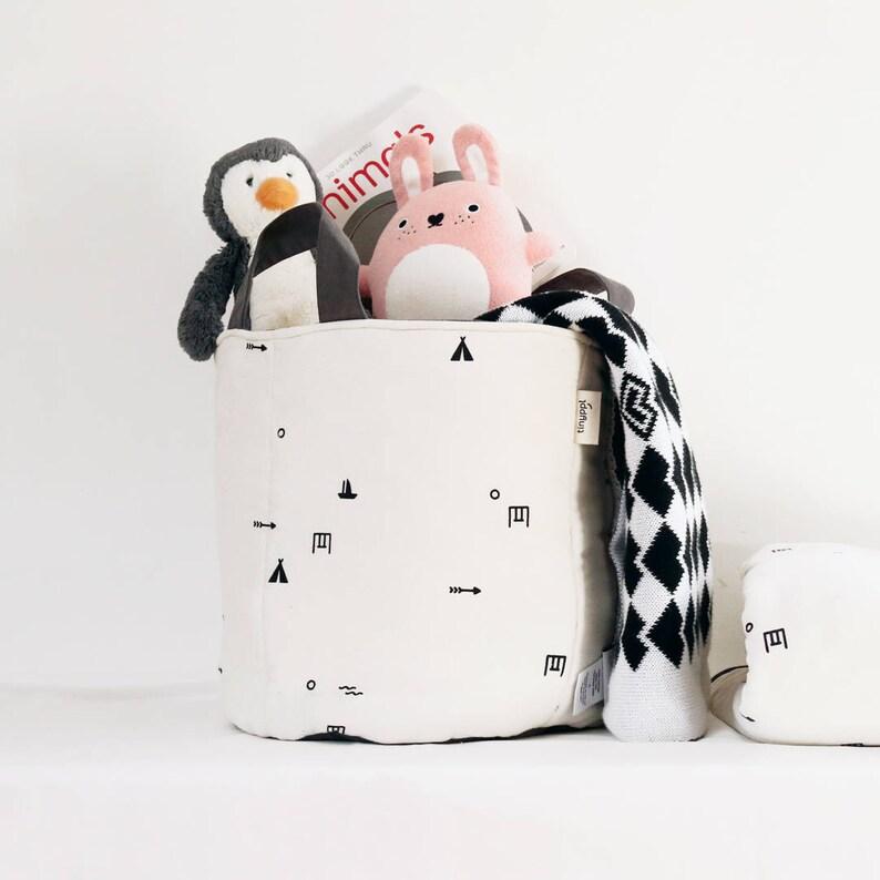 Toy Storage Basket Kids Storage Cotton Storage Bag Children image 0