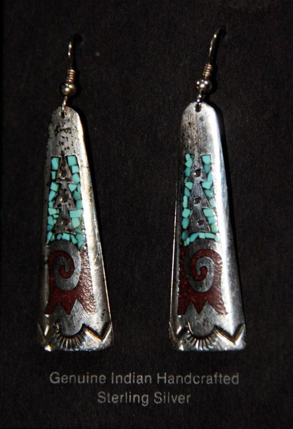 Earrings Zuni