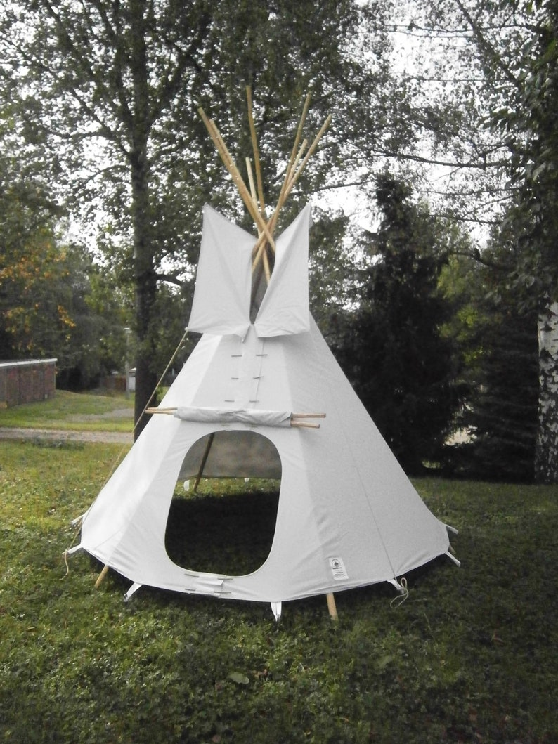 Tipi Zelt , Indianerzelt, Kinder Tipi outdoor, Kinderzelt Tipi, tepee,  tipi, wigwam, outdoor Zelt, authentic canvas tipi