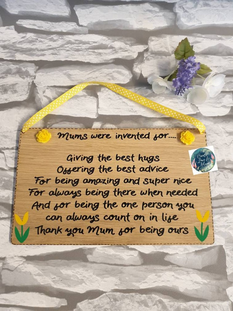 keepsake Thank you gift for Step Mum Mother birthday Christmas gift for her