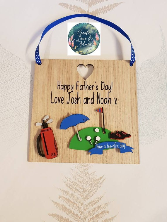 Personalised Golf Gifts For Men Gift Golfer