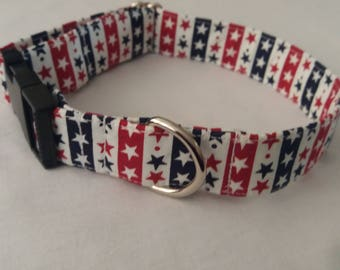 Adjustable Hand Made Dog Collar.