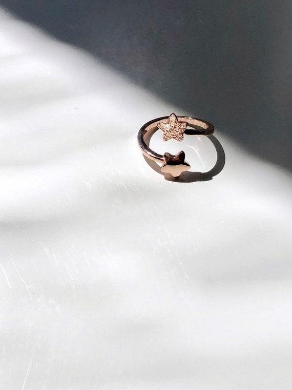 Stardust Adjustable ring