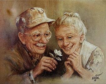 Love In Bloom - Dianne Dengel Print