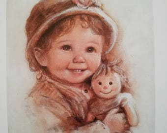 My Baby And Me - Dianne Dengel Print